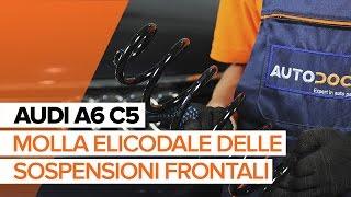 Come sostituire la molla elicodale delle sospensioni frontali AUDI A6 C5 [TUTORIAL]