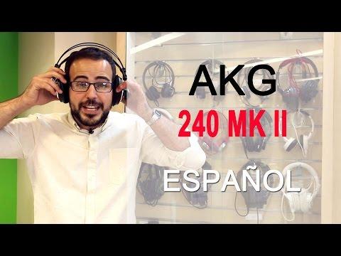 Audífonos, AKG K 240 MK II Semi Abiertos, Studio Headphones, review y análisis en español