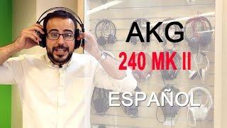 audfonos, AKG K 240 MK II Semi Abiertos, Studio Headphones, review y anlisis en espaol
