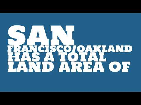 What is the population of San Francisco/Oakland?