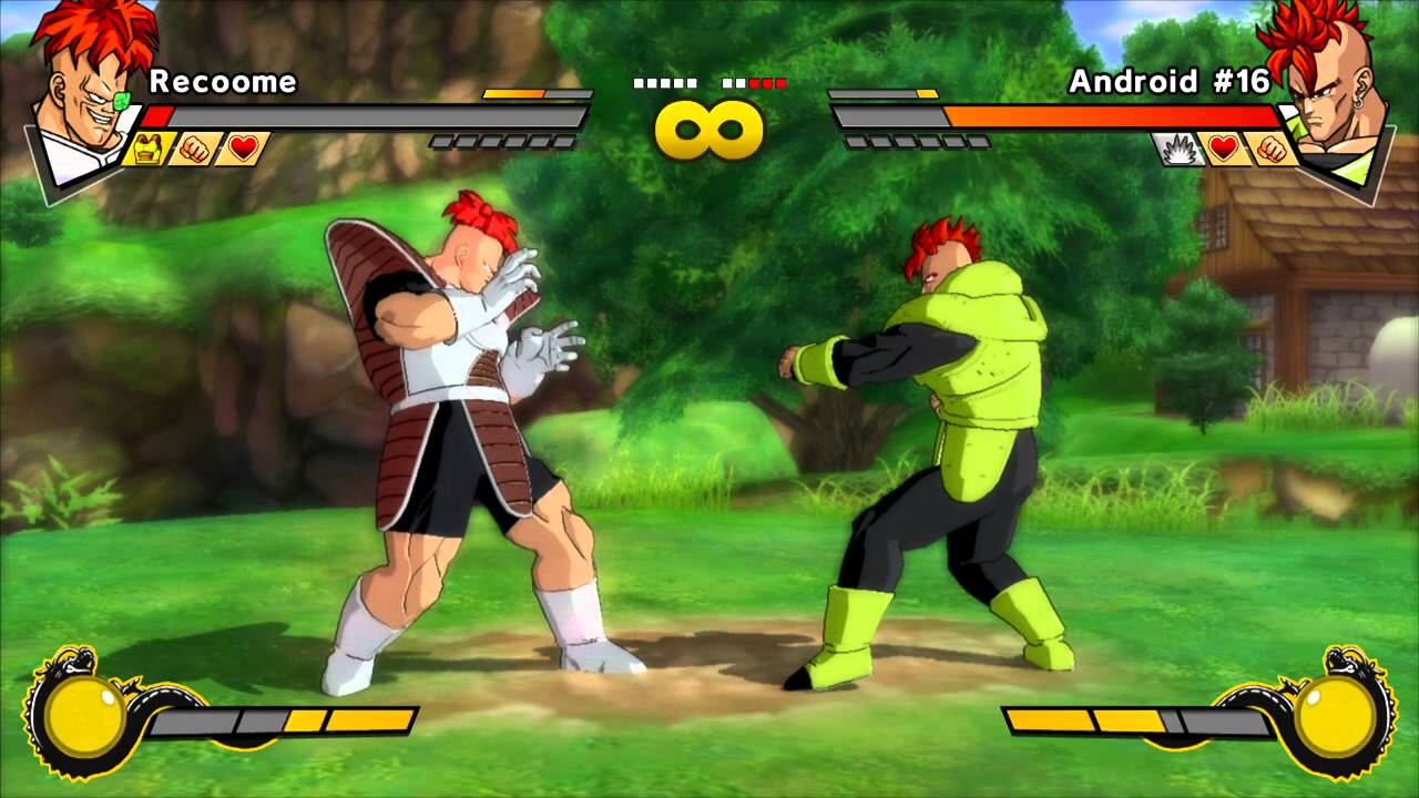 Dragon Ball Z Android 16 Vs Recoome Youtube