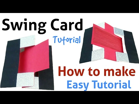 How to make a Swing Card | Easy Tutorial | Friendship Day Card |