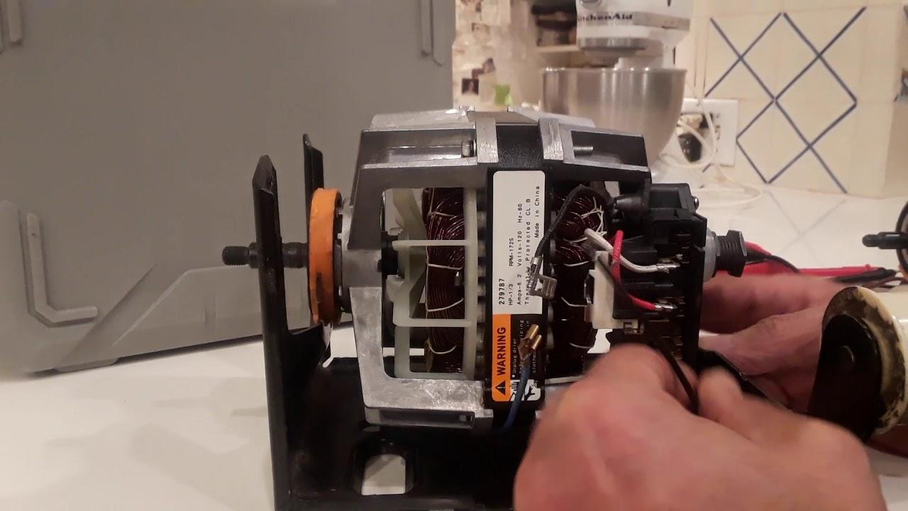 Kenmore 90 Dryer Whirlpool Electric Motor Wiring