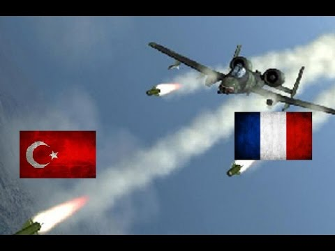 💣FRANCE VS TURKEY , Armed Forces