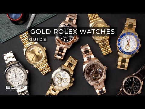 Gold Rolex Watches - Ultimate Buying Guide