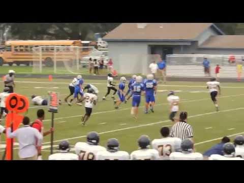 Gautier Middle School Kicker Kyle Gager 7th grade