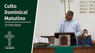 Culto Matultino (27/09/2020)