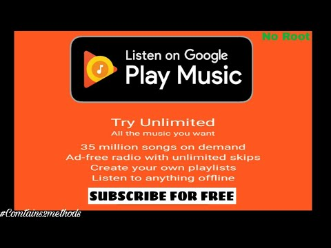 Get Google Play Music Premium For FREE!! no root