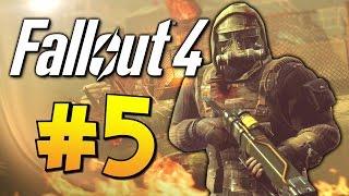 Прохождение Fallout 4 - Строим Поселение 5 60 FPS