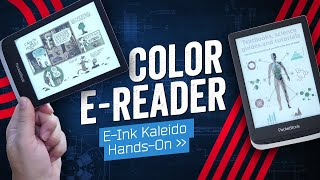 "The Color E-Reader is Here: Hands-On with E Ink ""Kaleido"" on the PocketBook Go"