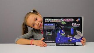 Іграшки для дітей відео. Мікроскоп - іграшки для дітей 6-8 років
