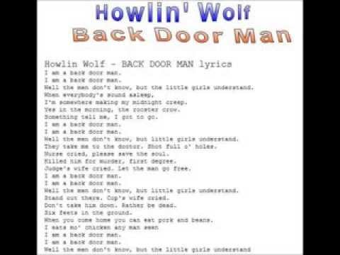 Howlin' Wolf-Back Door Man