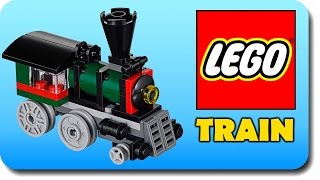 LEGO Little Train For kids With Funny Baby Song | Crazy Vehicle Animation Stop Motion