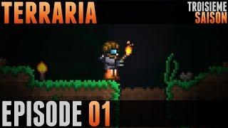 Terraria Saison 3 - #01 - Et c'est reparti!