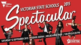See the rising stars of tomorrow, today at the Spectacular! NEILL GLADWIN STATE SCHOOLS SPECTACULAR