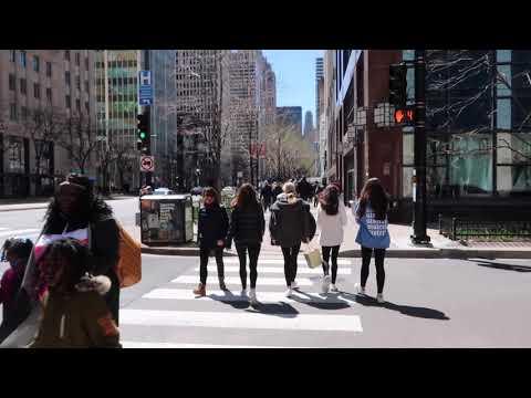 Walking Tour CHICAGO (The Magnificent Mile)