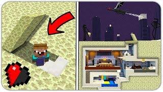 НУБ НАШЁЛ СЕКРЕТНУЮ БАЗУ В ЭНДЕР МИРЕ в МАЙНКРАФТ! (СЕКРЕТНЫЙ ДОМ ДРАКОНА) ЗАЩИТА НУБА Minecraft