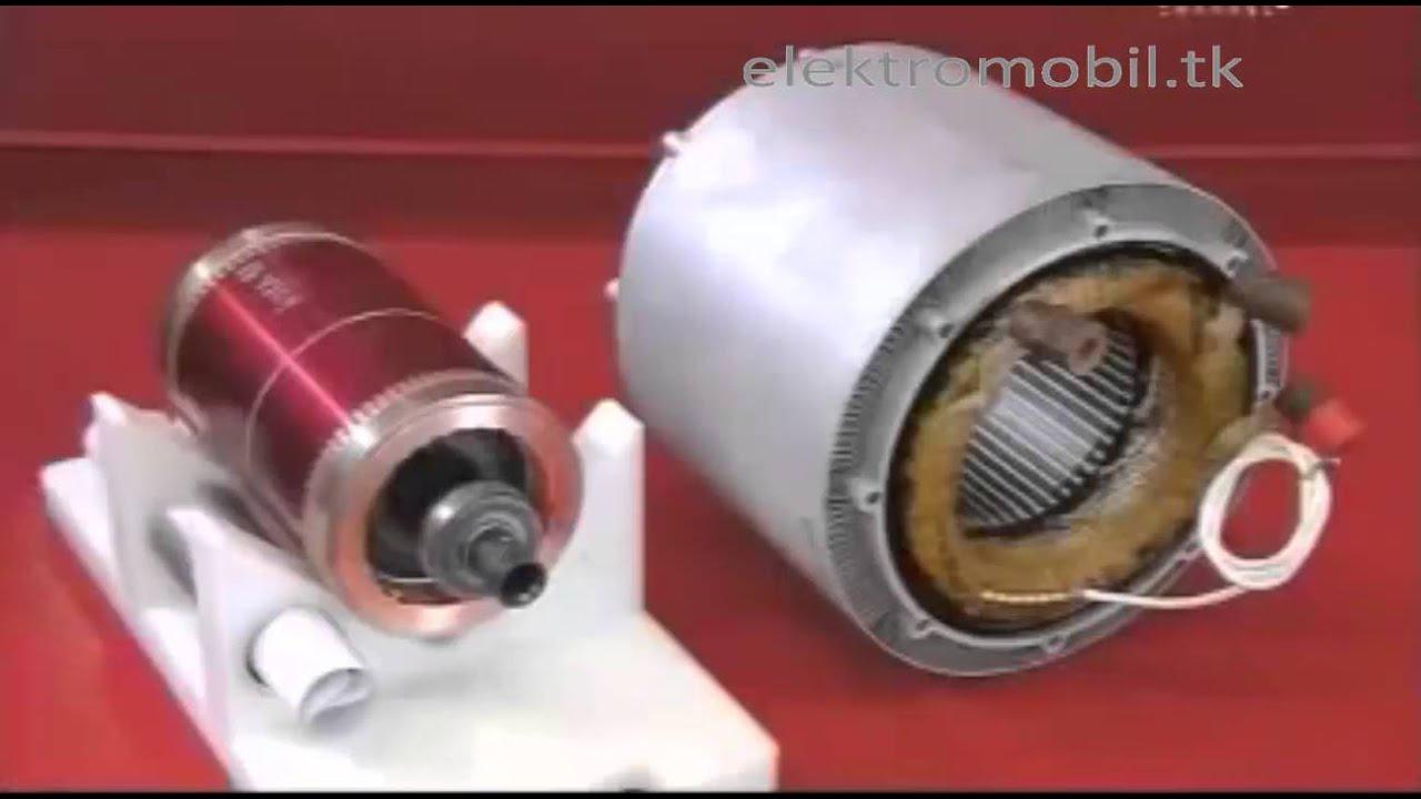 электродвигатель для электромобиля tesla model s