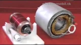 видео Электромотор для электромобиля