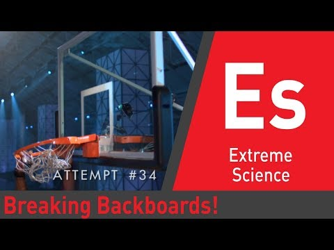 Sport Science puts NBA backboards to the test! | Sport Science