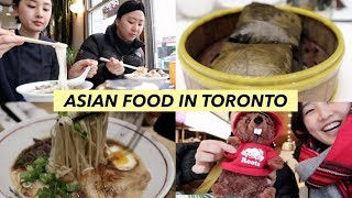Dim Sum and Noodles in Toronto | Travel Vlog
