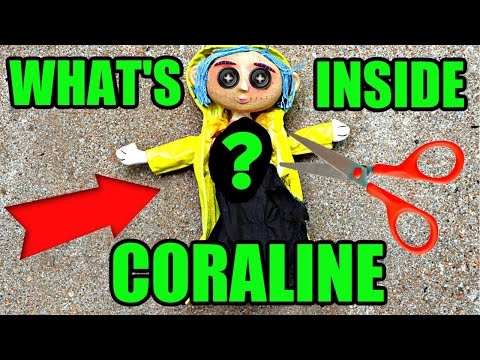What S Inside Coraline Creepy Doll Is A New Villain Coming Youtube