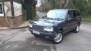 Range Rover P38 For Sale on eBay 2016 | Return to driveway