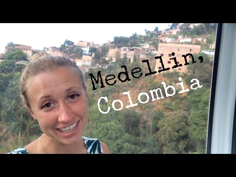 MEDELLIN METROCABLE - COLOMBIA - TRAVEL VLOG - The Adventures of Pip & Tobes