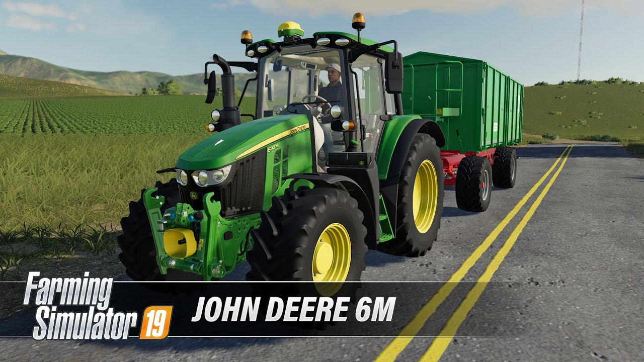 [FS19] John Deere 6M Series - now available on ModHub!