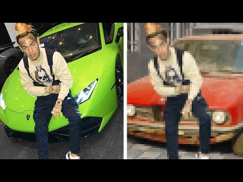 I Made Rappers Look Broke In Photoshop - SEASON 1 6IX9INE Lil Pump 21 Savage