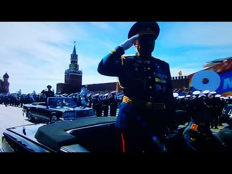 Parada Moskva, Russia 2018, Victory Day parade on Moscow's Red Square, Парад Победы, I часть