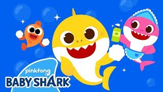 Wash Your Hands with Baby Shark | Prevent the virus | Baby Shark Hand Wash Challenge