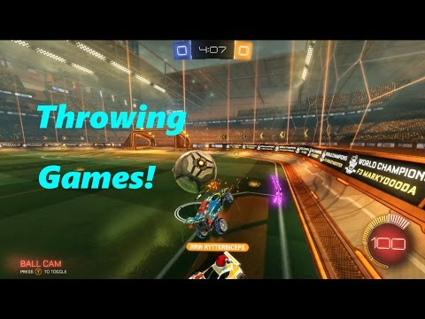 Throwing Games Without Reason!