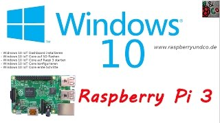 Windows 10 IoT Core auf Raspberry Pi 3 installieren [NEU] Beispiel Internet Radio