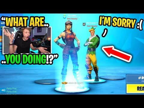 I CAUGHT this CODENAME ELF impersonating me in Fortnite... (I CONFRONTED HIM!)