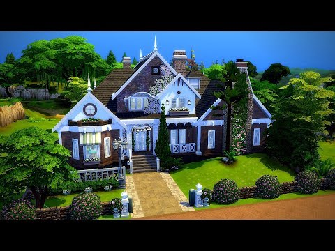 The Sims 4    Speed Build    Belmont Drive thumbnail