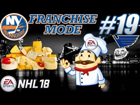 "NHL 18 Franchise Mode - New York Islanders #19 ""The Various Flavors of EA Cheese"""