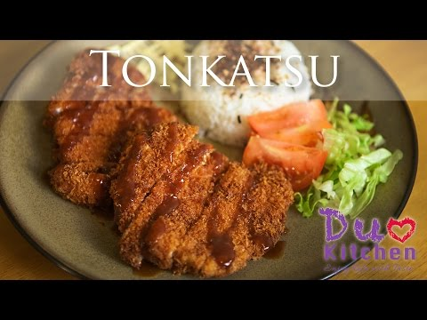 How to make Tonkatsu (とんかつ - Japanese Fried Pork Cutlet)