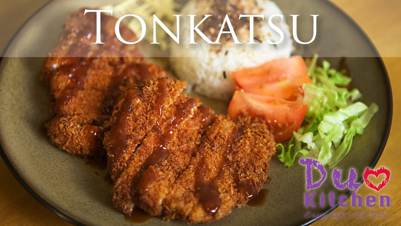 How to make Tonkatsu (とんかつ - Japanese Fried Pork Cutlet ...