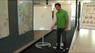 Flipchart - 70 X 105 Cm - Whiteboard / Magnetic / Mobile