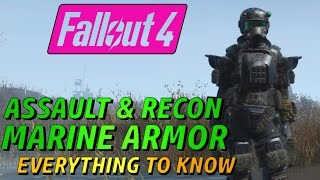 Fallout 4 - Recon Marine Armor - EVERYTHING You Need to Know