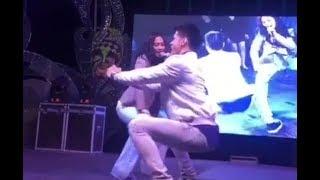 Nashock Yung Guy Sa Ginawa Ni Maja Salvador!
