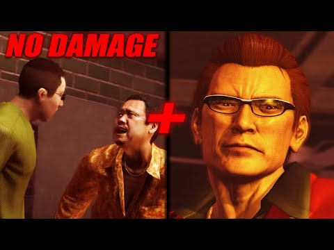 Yakuza 3 Remastered - Tamashiro family long battle + Boss #3 - No damage - No EQ |