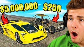 BILLIGSTES vs. TEUERSTES Auto in GTA 5!