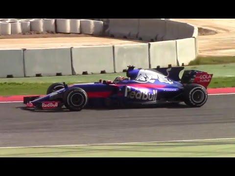 Formula 1 - 2017. Тесты в Барселоне. День 1-ый.