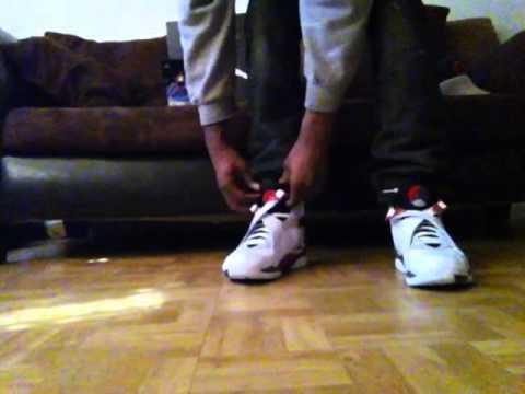 x ultra gtx salomon - Air Jordan 8 Retro ''Bugs Bunny 8's'' ON FEET - YouTube