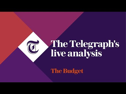 The Budget 2017 - The Telegraph's live analysis