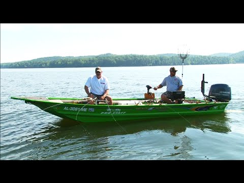Side pulling crappie on pickwick lake al youtube for Pickwick lake fishing report