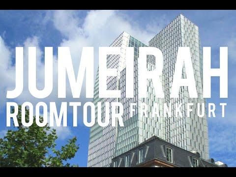 Jumeirah Frankfurt - Cooles Hotel In Bester Lage - Deluxe Room
