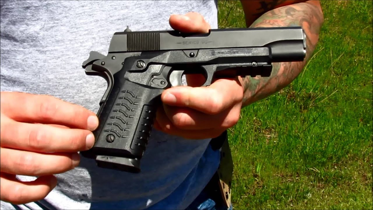 Review: Recover CC3 1911 Grip & Rail System - YouTube